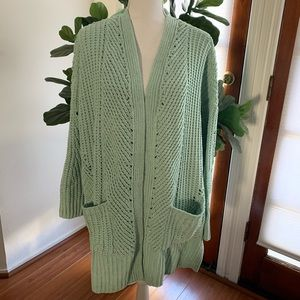 Style & Co Chenille Cardigan Knit Sweater